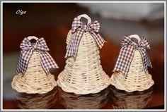 Vianočné zvončeky z pegigu. Autorka: olga45 - Artmama.sk