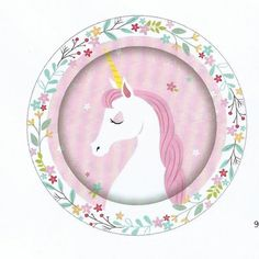 Unicorn Party Happy Birthday Foil Banner 12.5cm x 180cm Unicorn Party Supplies