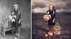 Эти отретушированные винтажные фотографии делают прошлое более волшебным