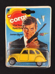 Vintage Corgi Junior James Bond For Your Eyes Only #115 Citroen Diecast Toy Car   Toys & Hobbies, Diecast & Toy Vehicles, Cars, Trucks & Vans   eBay!