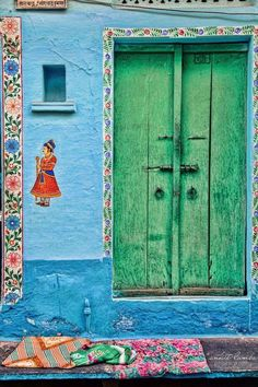 Indian colours | Indian house | India