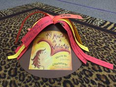 """My mouth is a volcano!  Class wrote different examples of a time that they """"erupted"""" or """"interrupted"""". Julia Cook Book. Mrs. Elementary School Counselor lesson."""