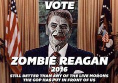 Zombie Teddy Roosevelt for VP!