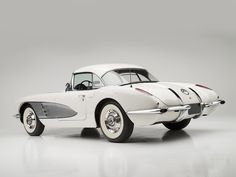 1958 Chevrolet Corvette Maintenance of old vehicles: the material for new cogs/casters/gears/pads could be cast polyamide which I (Cast polyamide) can produce