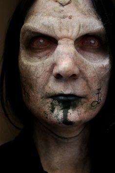 Image result for faceless man sfx makeup