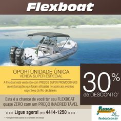OPORTUNIDADE ÚNICA – VENDA SUPER ESPECIAL! – Flexboat