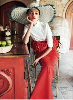 Alina Baikova Vogue Australia March 2011