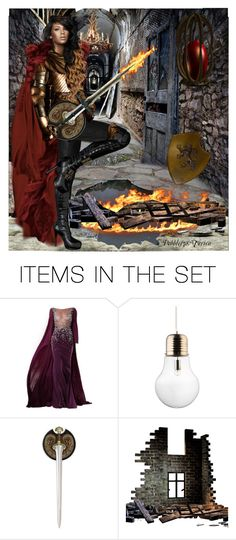"""Warrior Queen"" by pebbles78 ❤ liked on Polyvore featuring art, queen, warrior, fight and sword"