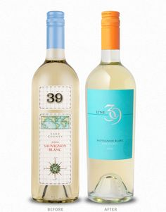 Cf Napa S Line 39 Wine Label Design Before And After Photos To See This