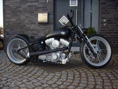 Springer Frontend for Rocker - Harley Davidson Forums Harley Rocker, Best Bike Shorts, Harley Davidson Forum, Biker T Shirts, Motorcycle Outfit, Biker Style, Motorcycles, Motorbikes, Motorcycle Suit