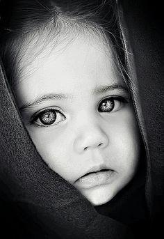 Angelic face. Adorable.