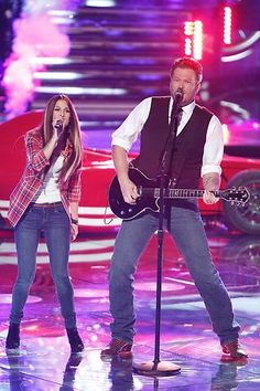 Cassadee and her coach #VoiceFinal3 #TheVoice