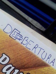 Tentativa de imaginar um logo... #dECObertura