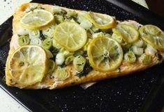 Zsírpapírban sült lazac Seafood Dishes, Fish And Seafood, Fish Recipes, Healthy Recipes, Healthy Food, Tasty, Yummy Food, Prawn, Oysters
