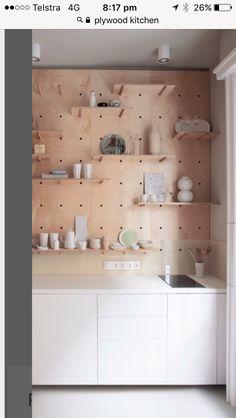 5 Joyous Simple Ideas: Minimalist Kitchen Industrial Floors minimalist home modern couch.Minimalist Home Furniture Simple minimalist bedroom diy posts.Minimalist Interior Home Woods. Minimalist Kitchen, Minimalist Interior, Minimalist Bedroom, Minimalist Decor, Minimalist Makeup, Modern Minimalist, Minimalist Living, Diy Kitchen Shelves, Plywood Kitchen