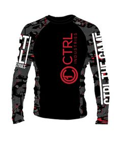 LOVE THIS! Want in White! Long Sleeve Jiu-Jitsu Rank Rashguard. Great for No-Gi competition, and everyday training. Can also be worn under gi during training.