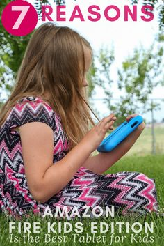 See our top 7 reasons why the Amazon Fire Kids Edition is the best tablet for children & Parents, to bring technology together in a fun learning activity with books, games, Android apps, and downloadable movies for the perfect on the go travel entertainment. via @2creatememories