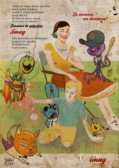 El cómic que no fue by Julia Cejas, via Behance