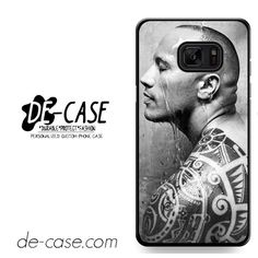The Rock Tatoo DEAL-10983 Samsung Phonecase Cover For Samsung Galaxy Note 7