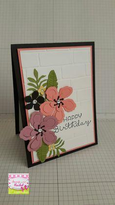 Stampin up botanical blooms birthday card i made.