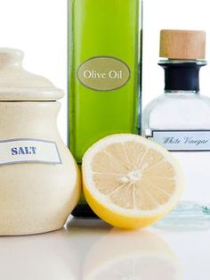 Homemade Natural Cleaning Products: Non-toxic cleaning supplies made with items easily found in the home.