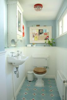 The home of Yvonne and Boris - eclectic - bathroom - amsterdam - by Holly Marder