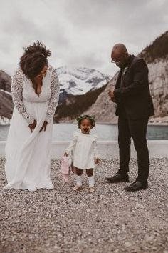 Enchanting Canmore Elopement + Alberta + Rocky Mountain Bride3 Nothing Else Matters, Elopement Inspiration, Rocky Mountains, Enchanted, Daughter, Shit Happens, Couple Photos, Crying, Wedding
