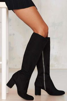 Schutz Karen Suede Boot | Shop Shoes at Nasty Gal! http://www.nastygal.com/shoes-boots/schutz-karen-suede-boot