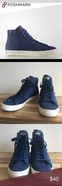 los angeles 3d65f 31ae1 Mens Adidas Court Vantage High Tops, Sz. 11 Only worn a few times.