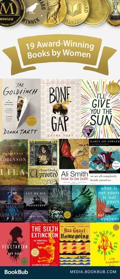 These award-winning books by women are great reads for women. These are must-read novels.