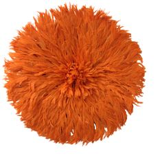 The juju hat (also known as Bamiléké feather headdress or Tyn Hat) symbolizes prosperity. It is believed to possess the beauty of birds and the fragility of life. They are traditionally worn by royal dancers during important ceremonies held by the tribal chiefs in Cameroon. In the world of interior design, they have become a source of stylish and dramatic wall decor.  Each headdress is handmade by Cameroonian craftsman out of natural or dyed feathers from chickens or wild birds (such as…