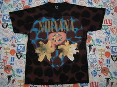 Original NIRVANA vintage 90s T SHIRT Courtney by rainbowgasoline, $200.00