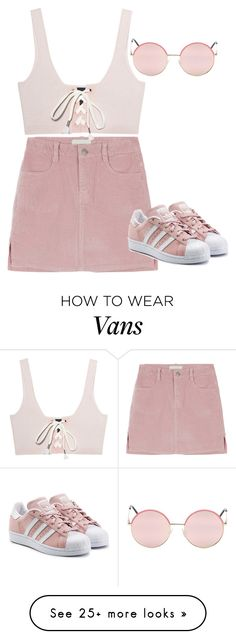 """""""Sweetness as a form of manipulation"""" by toyin-t on Polyvore featuring Puma, Vans, adidas Originals, Pink and libra"""