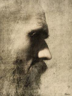 Vladas Orze - Self-portrait