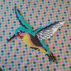 Hummingbird hama beads by missqta