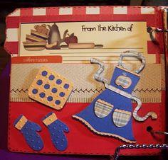 jenny: Cricut Mini Albums: Home Cookin'