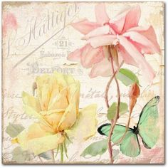 Trademark Fine Art Florabella IV Canvas Art by Color Bakery, Assorted