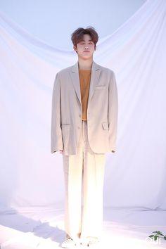 Korean Men, Suit Jacket, Mens Fashion, Blazer, Jackets, Instagram, Kpop, Produce 101, Kimchi