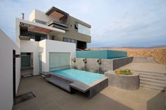 Casa CC in Peru by Longhi #Architects - #modern #architecture #home #house #minimalist #pool