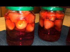 Compot de capsuni-*JuliaCuisine* - YouTube Mason Jars, Youtube, Canning, Mason Jar, Youtubers, Youtube Movies, Glass Jars, Jars