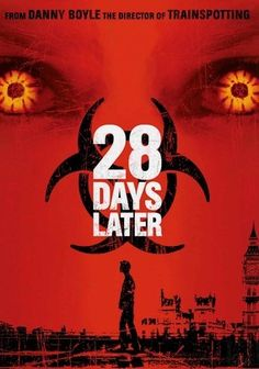 28 Days Later (2002) Twenty-eight days after a killer virus was accidentally unleashed from a British research facility, a small group of London survivors (including Cillian Murphy and Brendan Gleeson) are caught in a desperate struggle to protect themselves from the infected. Carried by animals and humans, the virus turns those it infects into homicidal maniacs -- and it's absolutely impossible to contain. Danny Boyle (Slumdog Millionaire) directs.