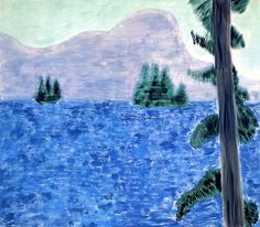 urgetocreate:  Milton Avery, Mountain Lake, 1960