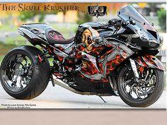 custom custom hayabusa, motorcycle paint, custom sportbikes, hayabusa pictures, sportbike pictures that's a
