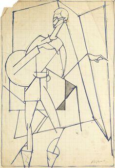 Albert Gleizes, Jean Cocteau, 1916.