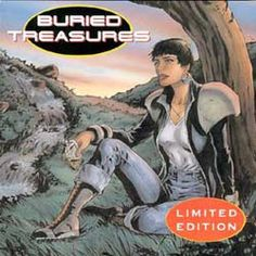 Audio cover for the limited edition of Buried Treasures.