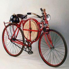 Fireman's bicycle from 1905.