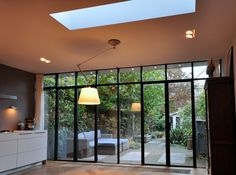 Home Decor Kitchen, Interior Design Kitchen, Style At Home, Dream Home Design, House Design, Extension Veranda, Home Fountain, Barn Renovation, House In Nature