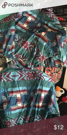Vintage wind breaker KAOTIC windbreaker , bought but never worn. No signs of wear and tear Jackets & Coats