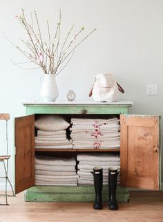 linen storage or pantry or pots and pans or bar !