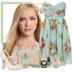 Girly outfit. I really like this outfit